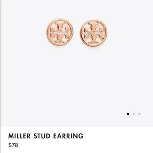 Miller stud earrings
